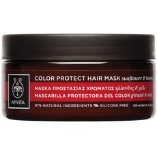 APIVITA Color Protect Hair Mask Μασκα Προστασίας Χρώματος για Βαμμένα Μαλλιά με Ηλίανθο & Μέλι 200ml