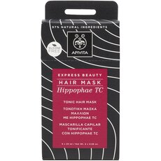 APIVITA EXPRESS BEAUTY HAIR MASK Hippophae Tc Τονωτική Μάσκα Μαλλιών 20ml