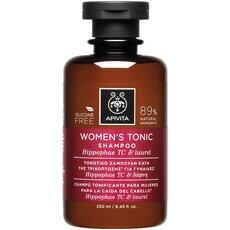 APIVITA Women's Tonic Shampoo Τονωτικό Σαμπουάν κατά της Τριχόπτωσης για Γυναίκες με Hippophae & Δάφνη 250ml
