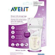 AVENT Σακουλάκια Αποθήκευσης Μητρικού Γάλατος 25τμχ SCF603/25