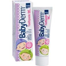 Babyderm Toothpaste Bubblegum Παιδική Οδοντόκρεμα με γεύση Τσιχλόφουσκα 50ml