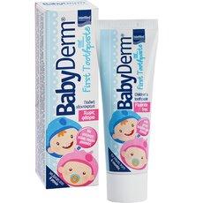 Babyderm First Toothpaste Οδοντόκρεμα για Βρέφη και Παιδιά 50ml