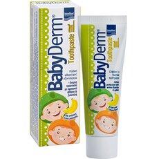 Babyderm Toothpaste Παιδική Οδοντόκρεμα με γεύση Μπανάνα 50ml