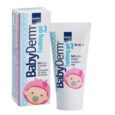 INTERMED Babyderm Teething gel Γέλη για την ανακούφιση των βρεφικών ούλων 30ml