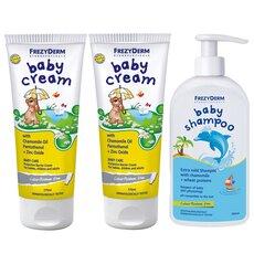 FREZYDERM Πακέτο Προσφοράς 2 (Δύο)  Baby Cream 175ml + 1 (Ένα) Baby Shampoo 300ml, fig. 1