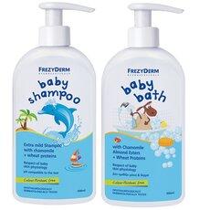 FREZYDERM Πακέτο Προσφοράς Baby Bath 300ml + Baby Shampoo 300ml