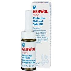 GEHWOL med Protective Nail & Skin Oil Προστατευτικό λάδι με αντιμυκητιασική δράση για νύχια και δέρμα 15ml