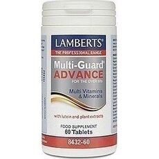 LAMBERTS Multi-Guard Advance Όλοκληρωμένη Πολυβιταμίνη Ιδανική για Έντονη Άσκηση 60 Tablets