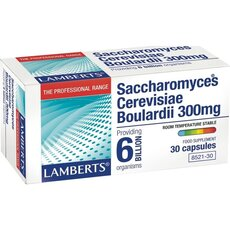 LAMBERTS Saccharomyces Cerevisiae Boulardii 300mg 30caps