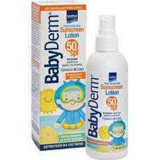 INTERMED Babyderm Sunscreen Αντηλιακό Γαλάκτωμα SPF50