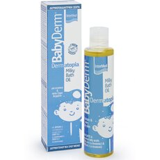 INTERMED Babyderm Dermatopia Milky Bath Oil 200ml