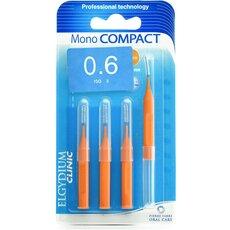 ELGYDIUM Μεσοδόντια Βουρτσάκια Monocompact Orange 0.6