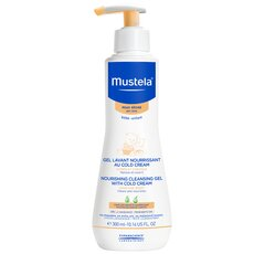 MUSTELA Nourissing Cleansing Gel With Cold Cream 300ml