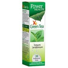 POWER HEALTH Xs Green Tea 20 αναβράζοντα δισκία