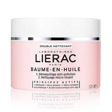 LIERAC Baume-en-Huile double Nettoyant Balm σε Έλαιο Καθαρισμού 120g