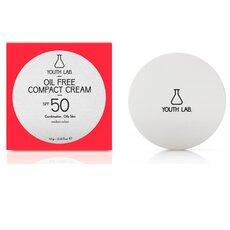 YOUTH LAB Oil Free Compact Cream Spf 50 Αντιηλιακή κρέμα compact για ματ αποτέλεσμα στο Μικτό/Λιπαρό δέρμα Μεσαία Απόχρωση 10gr