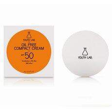 YOUTH LAB Oil Free Compact Cream Spf 50 Αντιηλιακή κρέμα compact για ματ αποτέλεσμα στο Μικτό/Λιπαρό δέρμα Ανοιχτόχρωμη Απόχρωση 10gr