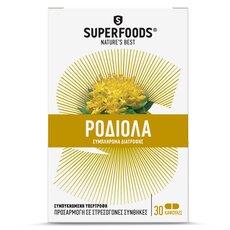 SUPERFOODS Χρυσή Ρίζα Rhodiola 30caps