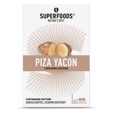 SUPERFOODS Ρίζα Yacon 60 Κάψουλες