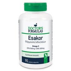 Doctor's Formulas Esakor Φόρμουλα Ιχθυελαίων 90 κάψουλες