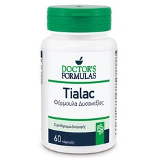 Doctor's Formulas Tialac Φόρμουλα Δυσανεξίας Στη Λακτόζη 60 κάψουλες