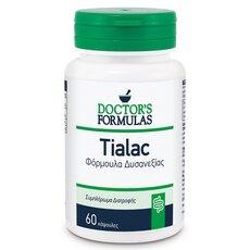 Doctor's Formulas Tialac Φόρμουλα Δυσανεξίας Στη Λακτόζη 60 κάψουλες