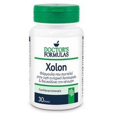 Doctor's Formulas Xolon Φόρμουλα Δυσκοιλιότητας 30 δισκία