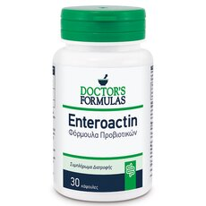 Doctor's Formulas Enteroactin Φόρμουλα Προβιοτικών 30 κάψουλες