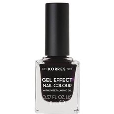 KORRES Gel Effect Nail Colour No. 76 Smokey Plum Βερνίκι Νυχιών 11ml