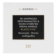 KORRES 3D Ανόρθωση Περιγράμματος & Ολική Σύσφιγξη Κρέμα Ημέρας Μαύρη Πεύκη Για Κανονικές Και Μικτές Επιδερμίδες, 40ml, fig. 2