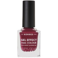 KORRES Gel Effect Nail Colour No. 74 Berry Addict Βερνίκι Νυχιών 11ml
