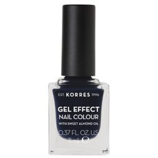 KORRES Gel Effect Nail Colour No. 88 Steel Blue Βερνίκι Νυχιών 11ml