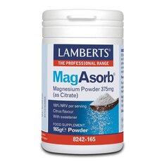 LAMBERTS MagAsorb 375mg as Citrate Powder 165g