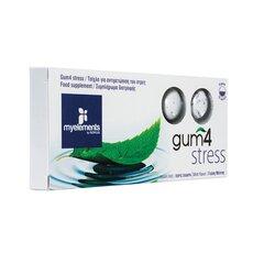 MyElements Gum4 Stress με Γεύση Μέντας 10 τσίχλες