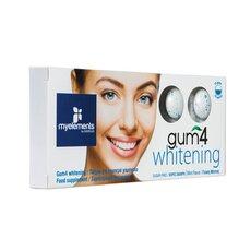 MyElements Gum4 Whitening με Γεύση Μέντας 10 τσίχλες