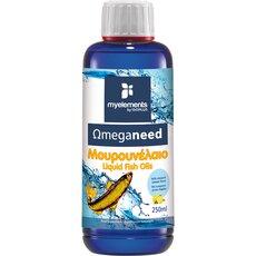 MyElements Ωmeganeed Μουρουνέλαιο Λεμόνι 250ml