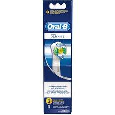 Oral-B 3D White Ανταλλακτικές Κεφαλές 2τεμ