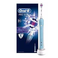 Oral-B Pro 600 3D White Ηλεκτρική Οδοντόβουρτσα