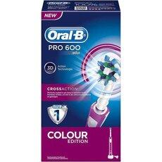 Oral-B Pro 600 Cross Action Color Edition Ηλεκτρική Οδοντόβουρτσα