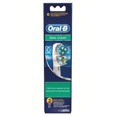 Oral-B Dual Clean Ανταλλακτικές Κεφαλές 2τεμ