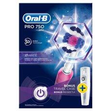 Oral-B Pro 750 3D White Ηλεκτρική Οδοντόβουρτσα