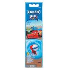 Oral-B Cars Ανταλλακτικές Κεφαλές 2τμχ