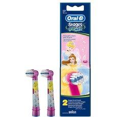 Oral-B Πριγκίπισσες Ντίσνεϊ Ανταλλακτικές Κεφαλές 2τμχ