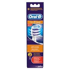 Oral-B Trizone Triple Action Βουρτσάκια Καθαρισμού 2τμχ
