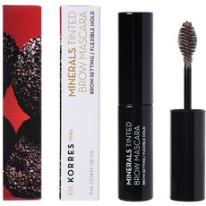 KORRES Minerals Tinted Brow Mascara 01 Dark Shade Μάσκαρα Φρυδιών