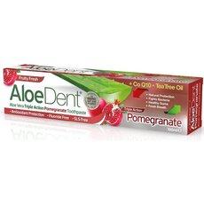 OPTIMA Aloe Dent Triple Action Pomegranate Οδοντόκρεμα με CoQ10 & Tea Tree Oil,100ml
