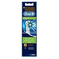 Oral-B Cross Action Ανταλλακτικές Κεφαλές 3+1 Extra