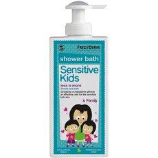 FREZYDERM Πακέτο Προσφοράς Sensitive Kids Shower Bath 200ml + Magic Spray Girl 150ml με Δώρο Αναδιπλούμενο Παγούρι Νερού