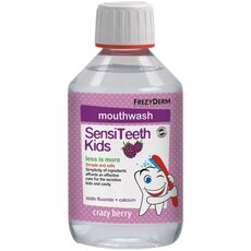 FREZYDERM SensiTeeth Kids Mouth Wash Στοματικό διάλυμα κατά της τερηδόνας, για παιδιά από 3 ετών 250ml, fig. 1