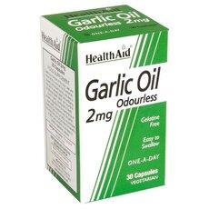 HEALTH AID Garlic Oil 2mg Odourless 30Caps, fig. 1